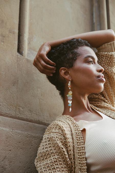 SVNR Handmade Positano earrings