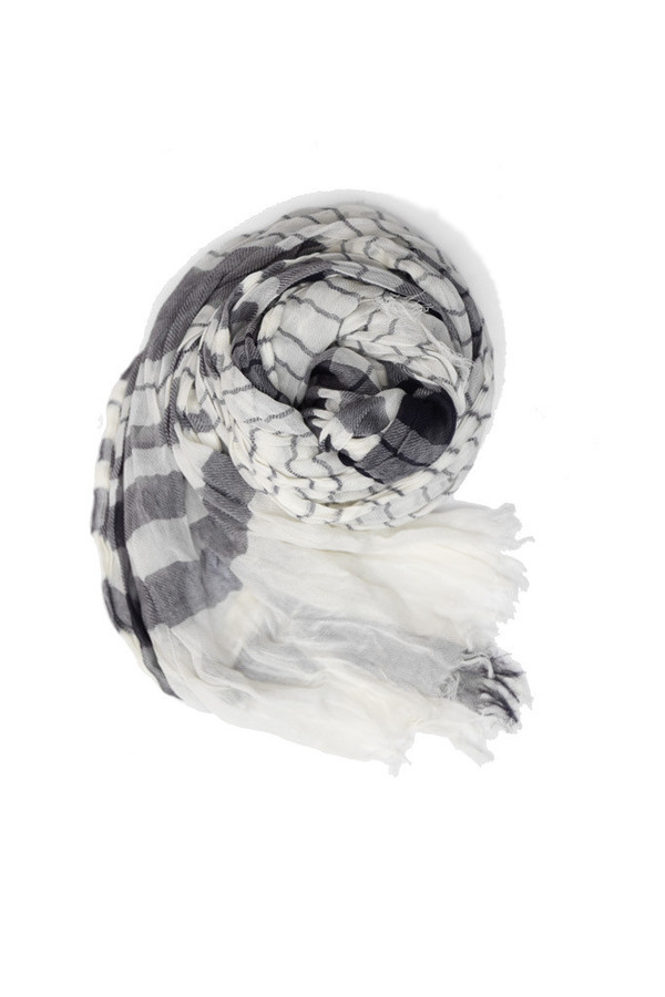 Bridge & Burn Blue & White Stripe Scarf