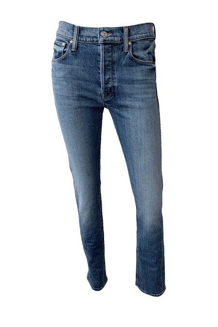 Mother Denim Proper Drop Rise Straight Leg Jeans - Truce
