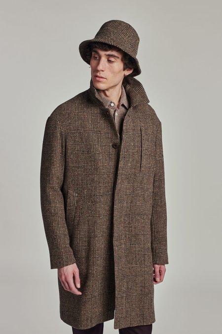 Delikatessen Wool Winter coat - BROWN