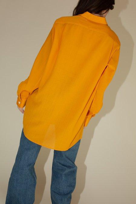 Our Legacy Suave Shirt - Saffron Yellow