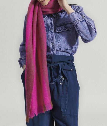 Rachel Comey Striped Scarf - Fuchsia
