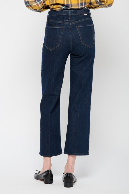 Mother Denim The Rambler Ankle Jeans - Clean Up Your Act