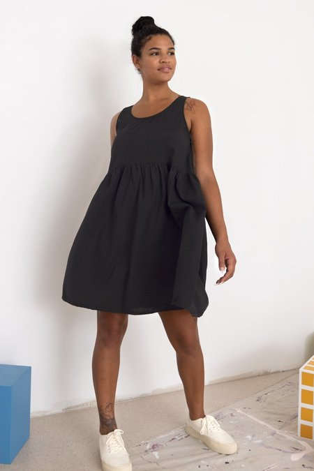 North Of West Leah Tencel Dress - Black