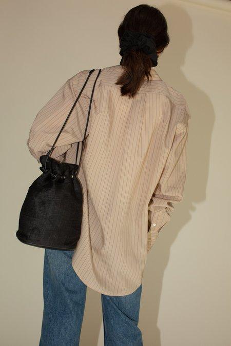 Maryam Nassir Zadeh Elemi Linen Bag - Black
