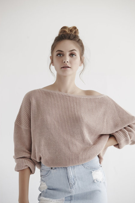 Callahan Fisher Off The Shoulder Top