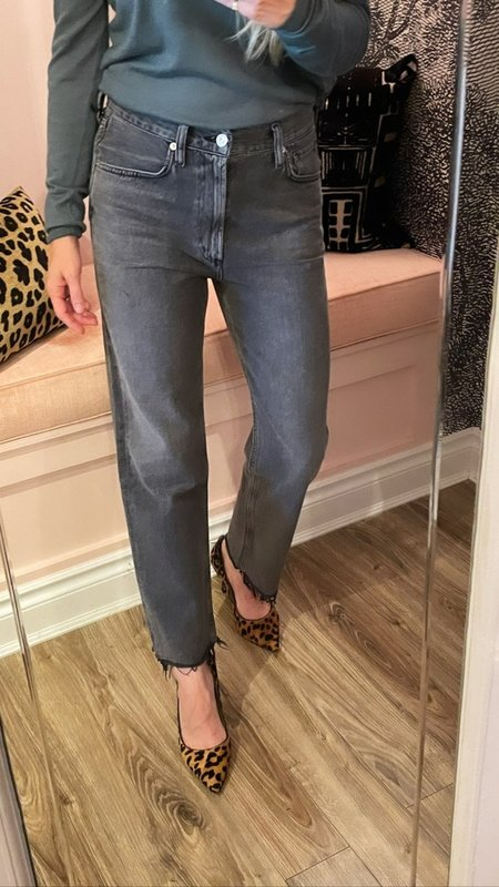 Citizens of Humanity Daphne Crop Jeans - Free Fall