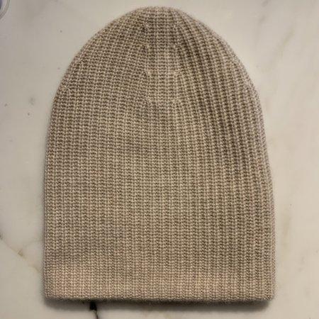 Doffer Boys Fat Cashmere Hat - Oatmeal