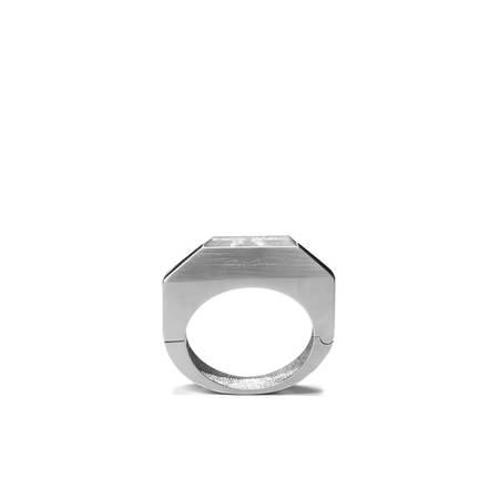 RICK OWENS Bangle Large Beveled Bracelet  - Crystal