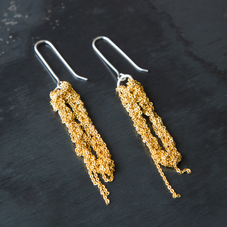 Arielle De Pinto Hook Drip Earrings