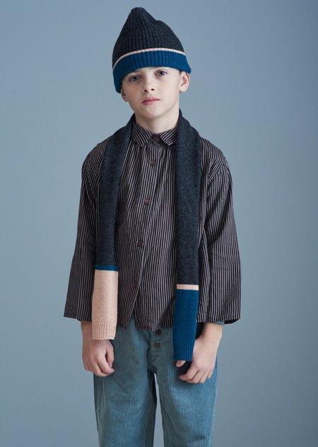 kids Caramel Ibsen Child Scarf - Grey Melange