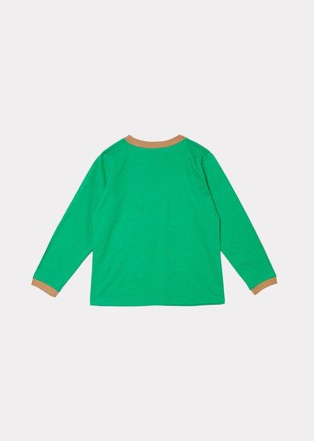 Kids Caramel Joella T-Shirt - Emerald Green