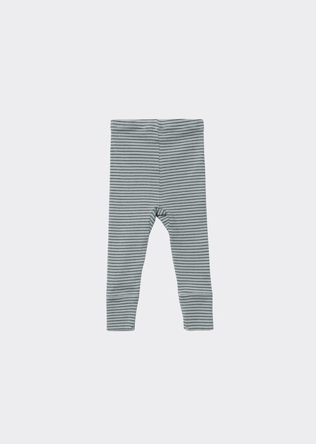 kids Caramel Judd Baby Legging - Mint Chocolate Stripe