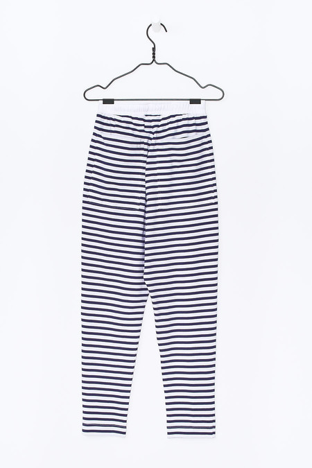 Kowtow Lounge Pant -  Blue/White Stripe