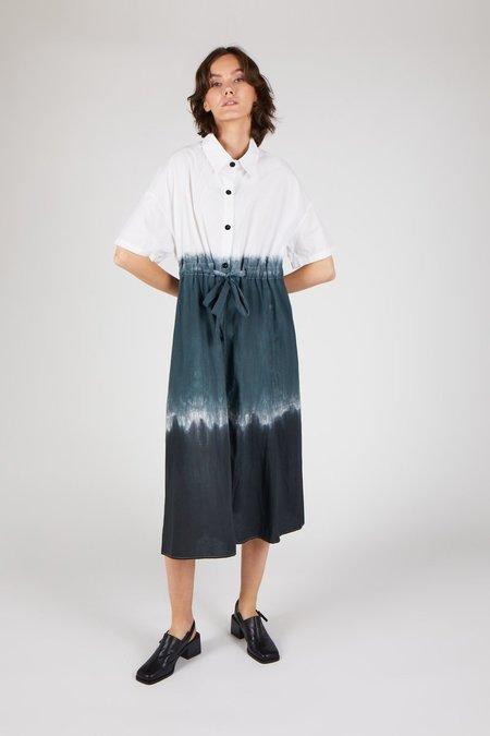 """INTENTIONALLY __________."" QUI QUI Dress - ombre gradient dye"