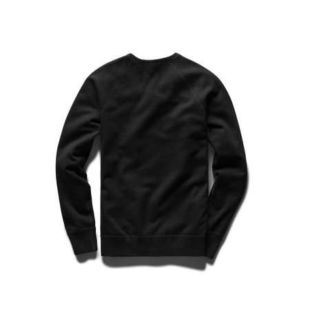 Reigning Champ Mid Weight Drop Shadow Relaxed Fit Crewneck - Black