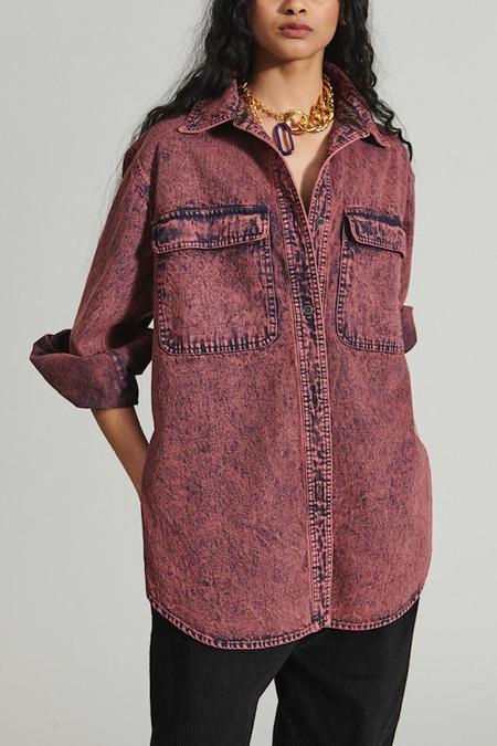 Rachel Comey Supply Shirt - Guava