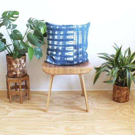 Norwegian Wood Pieced Pillow - Indigo