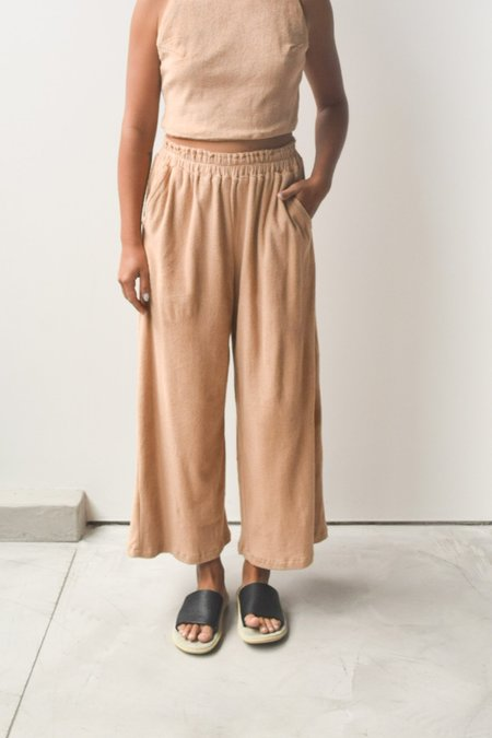 at Dawn. Terry Wide Pants