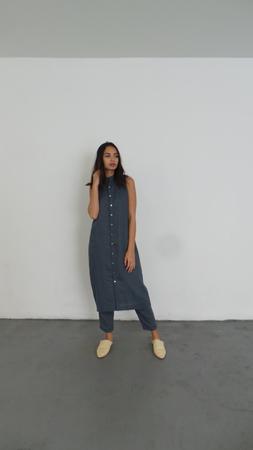 ILANA KOHN LUCY DRESS - BLUE