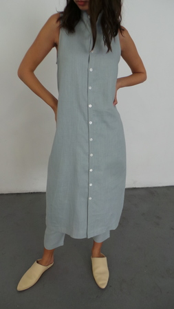 ILANA KOHN LUCY DRESS -LIGHT  BLUE