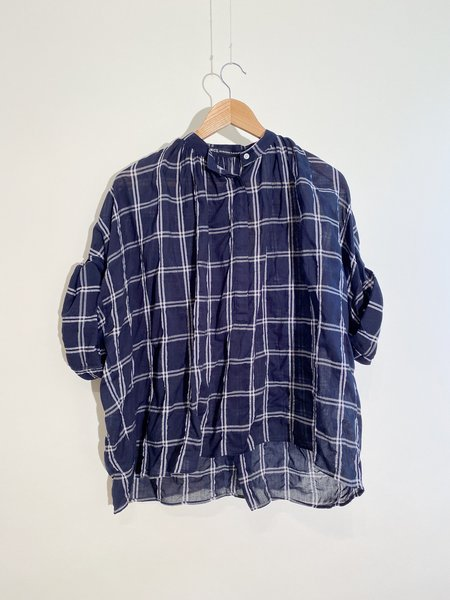 Nicholson & Nicholson Madagascar Shirt - Black and Creme