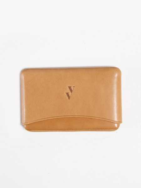VereVerto Brev Card Holder - Honey