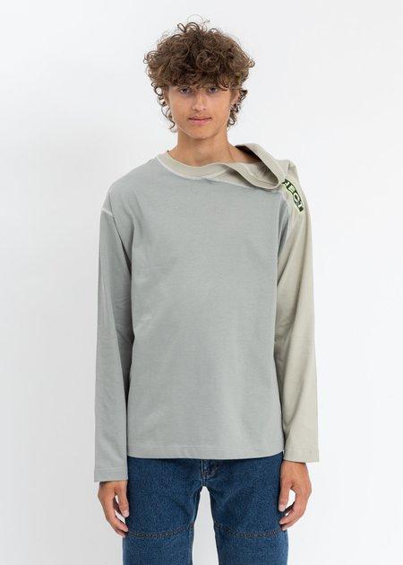 Y/project Clip Shoulder Long Sleeves - Khaki/Beige