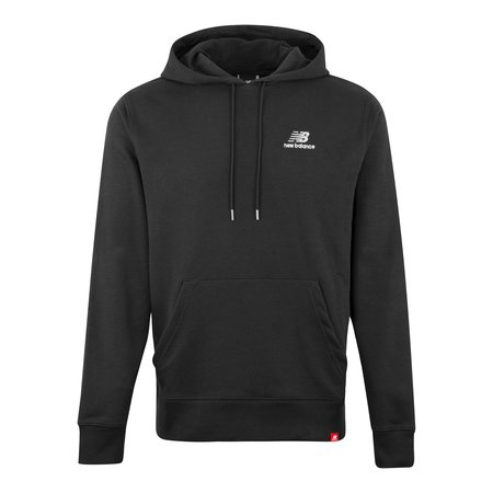New Balance Essentials Embroidered Hood sweatshirt - Black