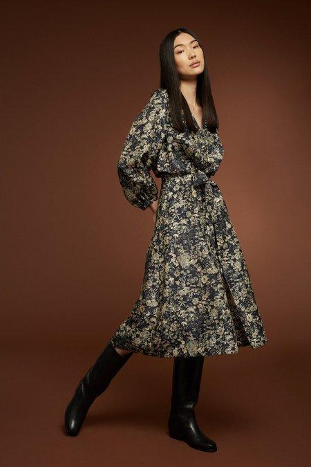 Soeur Olbia Silk Dress - Floral