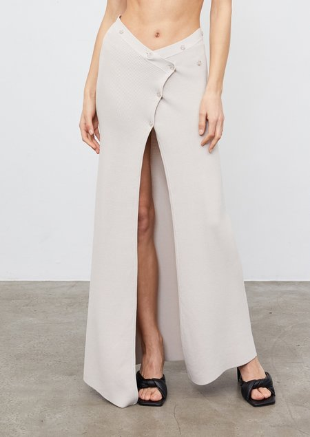 Aya Muse Aya Knit Skirt - sand