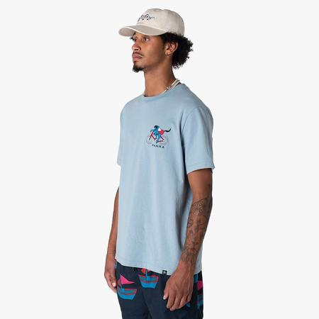 by Parra The Chase T-shirt - Blue