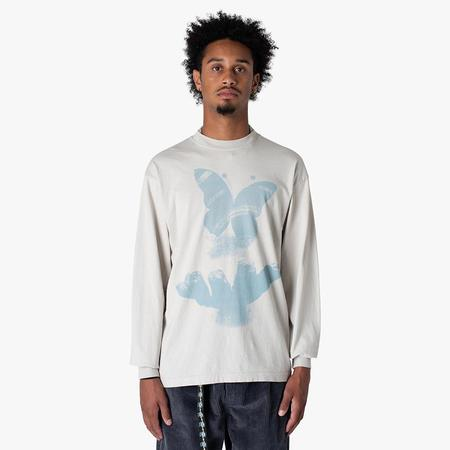 Cool Calm Studios Perceptions Long Sleeve T-shirt / Cement