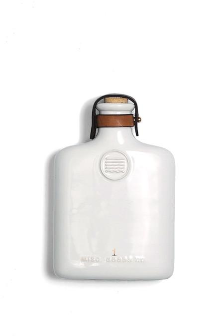 MISC. GOODS CO. Ceramic Flask - Natural