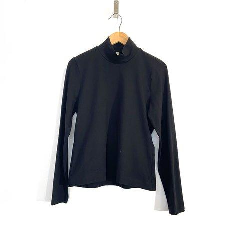 Jude Clothing Kings Jersey Turtleneck - Black