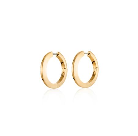 Jenny Bird Toni Hinged Hoop Earrings - Gold