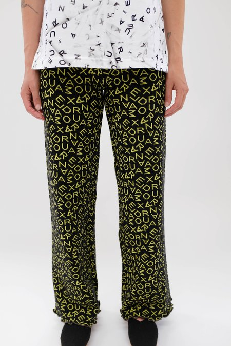 Alexandra Moura Name Trousers - Green