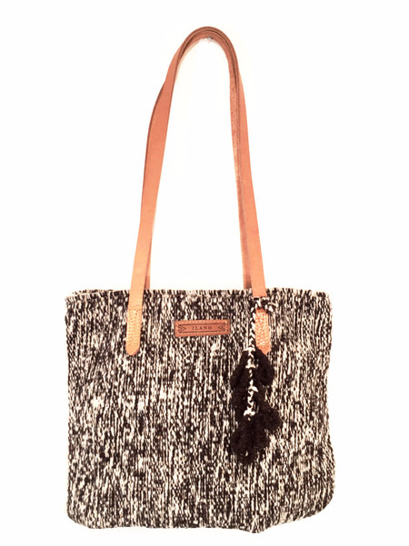 Ilano Marcella Handloomed Wool Tote