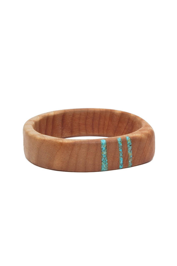 Parts Per Million Oregon Maple Three Stripe Bangle