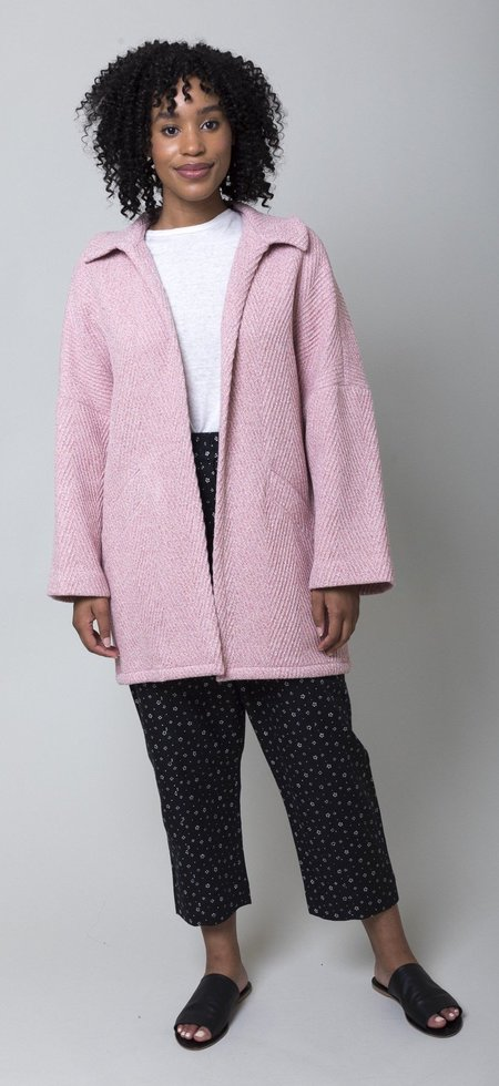 Rachel Comey Husk Coat - Chevron Wool