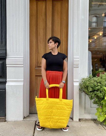 Oversized Bag in Yellow by Delfina Balda