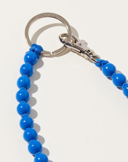Ina Seifart Perlen Long Keyholder - Blue
