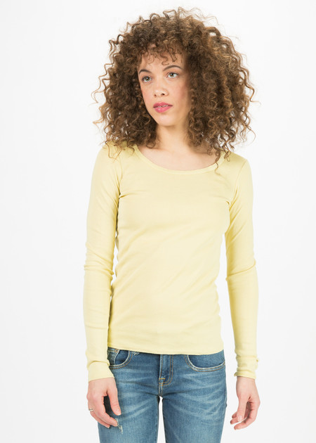 Kristensen du Nord Long Sleeve Scoop Neck T-Shirt
