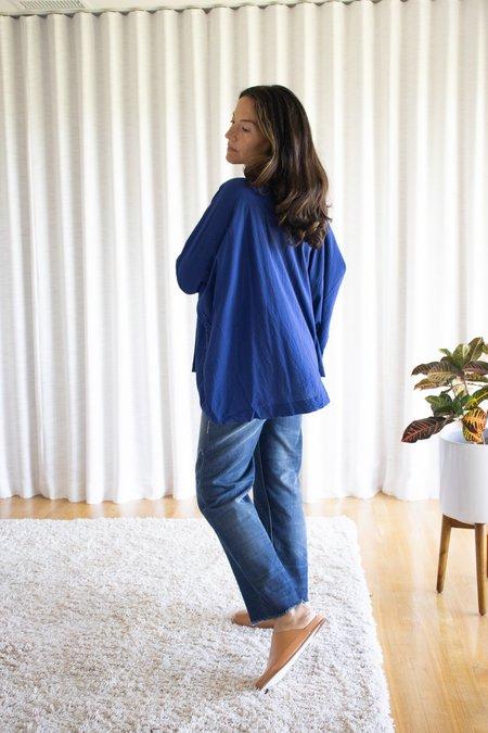 Ichi Antiquités Azumadaki Pullover - Blue