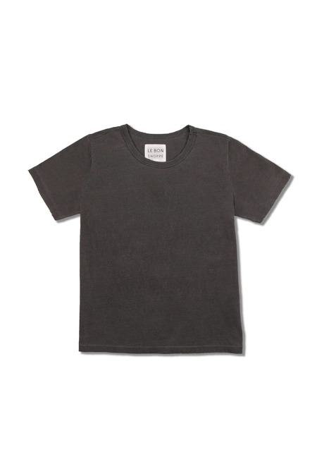 Le Bon Shoppe Organic Cotton Vintage Boy Tee - Black