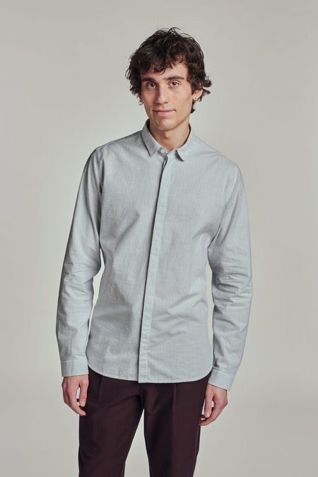 Delikatessen Round Collar Cute Shirt - Portuguese Brushed Flannel