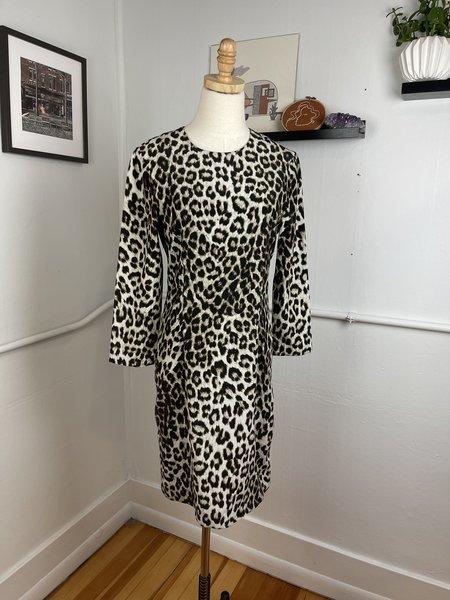 [Pre-Loved] Rag & Bone Isadora Dress - Leopard Printed