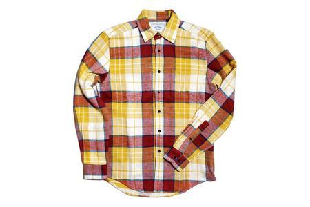Portuguese Flannel Happy Check Shirt - multi