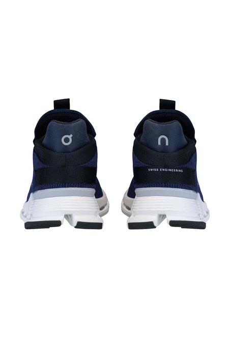 ON Running Mens Cloudnova Shoes -  Navy/White
