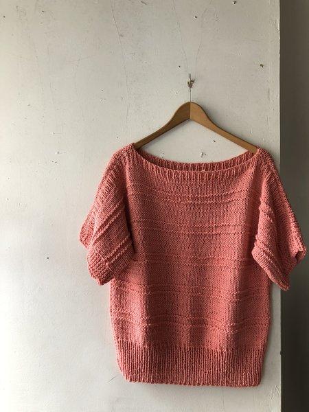 Stellapop Knit Top - Pink Coral